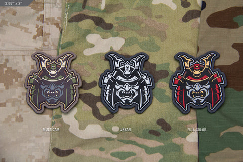 SAMURAI HEAD MORALE PATCH - Tactical Outfitters