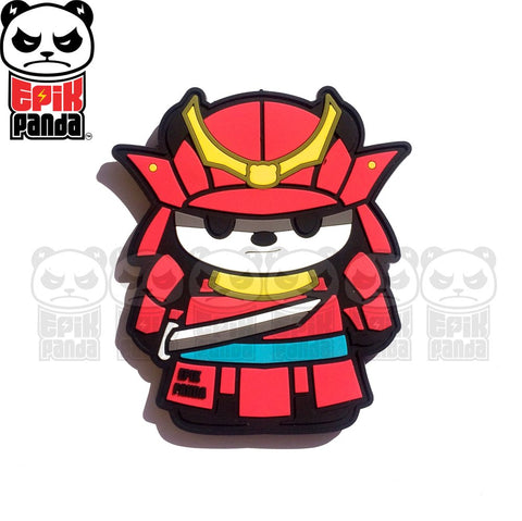 THUNDER (SAMURAI PANDA) PVC MORALE PATCH - Tactical Outfitters