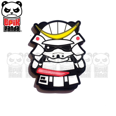 GHOST (SAMURAI PANDA) PVC MORALE PATCH - Tactical Outfitters