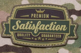 Satisfaction PVC Morale Patch - Tactical Outfitters