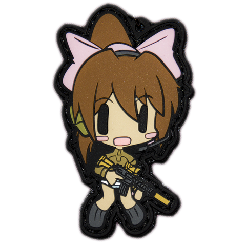 CHIBI SAYORI HYBRID PVC MORALE PATCH/STRAP - Tactical Outfitters