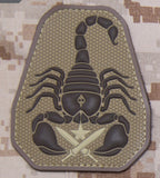 Scorpion Unit PVC Morale Patch - Tactical Outfitters
