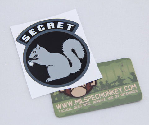 Secret Squirrel Decal - Tactical Outfitters