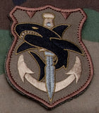 Tac Shark Morale Patch - Tactical Outfitters