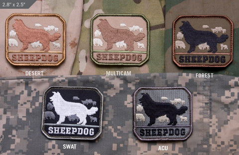 SHEEPDOG MORALE PATCH - Tactical Outfitters