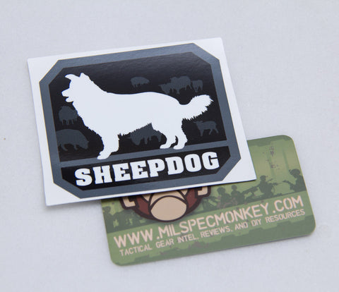 Sheepdog Decal - Tactical Outfitters