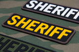 SHERIFF 6x2 PVC Patch - Tactical Outfitters