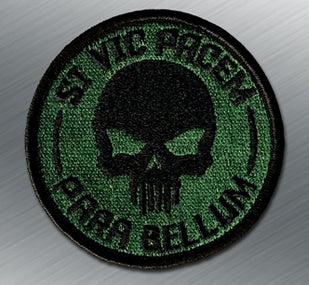 SI VIS PACEM PARA BELLUM SKULL PATCH - Tactical Outfitters