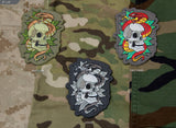 SKULL SNAKE 2 MORALE PATCH - Tactical Outfitters