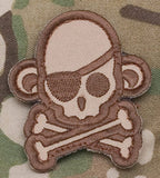 Skullmonkey - Morale Pirate Patch - Tactical Outfitters