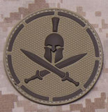 Spartan Helmet PVC Patch - Tactical Outfitters