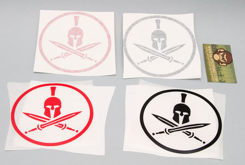 Spartan Helmet STICKER - Tactical Outfitters