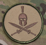 Spartan Helmet Patch - Tactical Outfitters