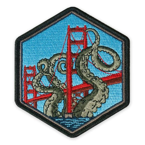 PDW SPD Golden Gate Kraken Morale Patch - Tactical Outfitters