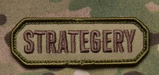 STRATEGERY Patch - Tactical Outfitters