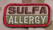 Sulfa Allergy - Tactical Outfitters