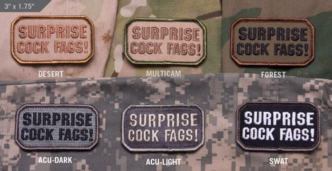 SURPRISE MORALE PATCH - Tactical Outfitters