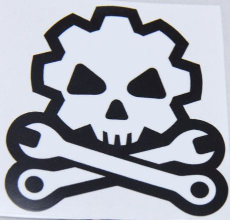 DEATH MECHANIC STICKER - Tactical Outfitters