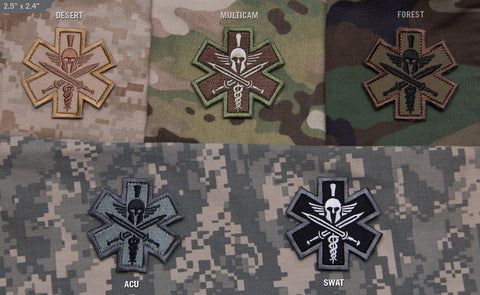 Spartan Tactical Medic Morale Patch - Tactical Outfitters