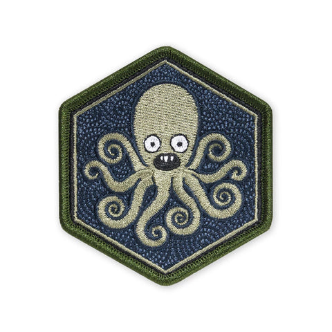 PDW SPD Team Tako 1000 Mile Stare Hexagon Morale Patch - Tactical Outfitters
