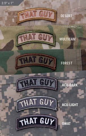 THAT GUY MORALE PATCH TAB - Tactical Outfitters