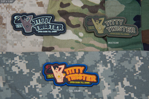 TITTY TWISTER PVC MORALE PATCH - Tactical Outfitters
