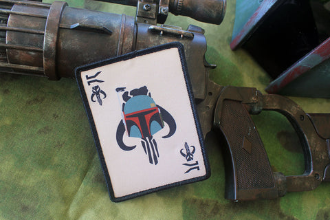 FETT DEATH CARD MORALE PATCH - Tactical Outfitters