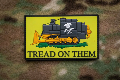 """Tread On Them"" Killdozer Morale Patch - Tactical Outfitters"