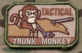 Tactical Trunk Monkey Patch - Tactical Outfitters