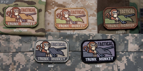 TACTICAL TRUNK MONKEY MORALE PATCH - Tactical Outfitters