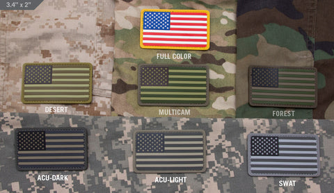 US FLAG PVC PATCH - Tactical Outfitters
