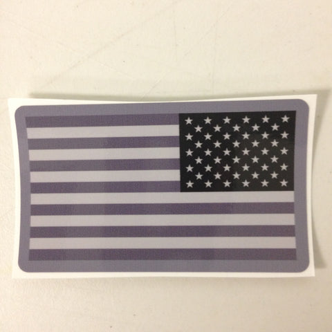 US Flag Reversed Sticker - Tactical Outfitters