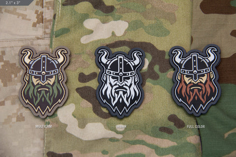 VIKING HEAD MORALE PATCH - Tactical Outfitters