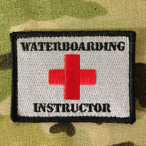 WATERBOARDING INSTRUCTOR MORALE PATCH - Tactical Outfitters