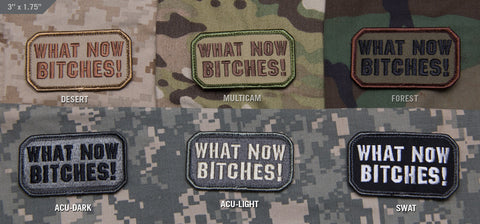 WHAT NOW! MORALE PATCH - Tactical Outfitters