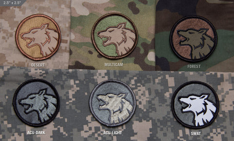 Wolf Head Morale Patch - Tactical Outfitters