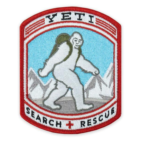 PDW Yeti Search + Rescue Morale Patch - Tactical Outfitters