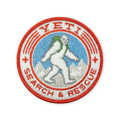 PDW Yeti Search & Rescue 2018 LTD ED Morale Patch