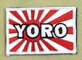 YORO - You Onry Rive Once - Kamikaze Morale Patch - Tactical Outfitters