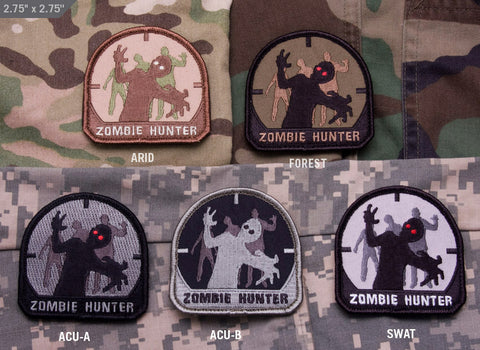 ZOMBIE HUNTER MORALE PATCH - Tactical Outfitters