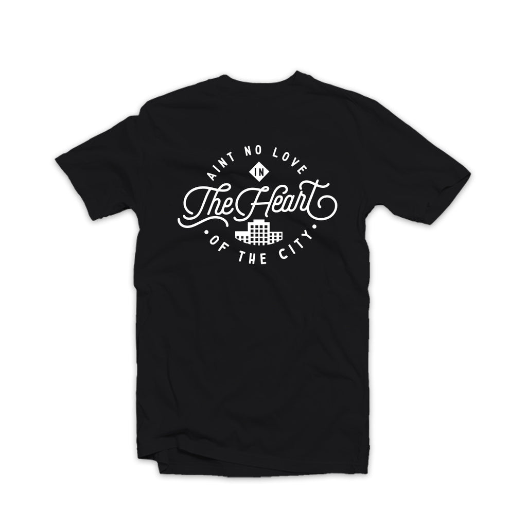 Ain't No Love Tee Black