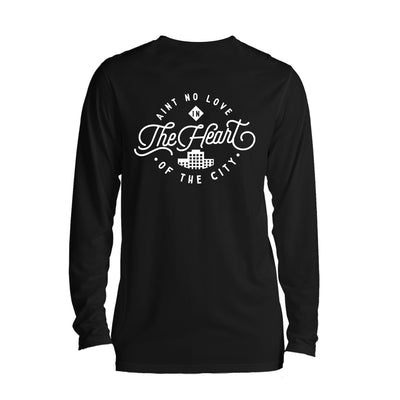 Ain't No Love Long Sleeve Black