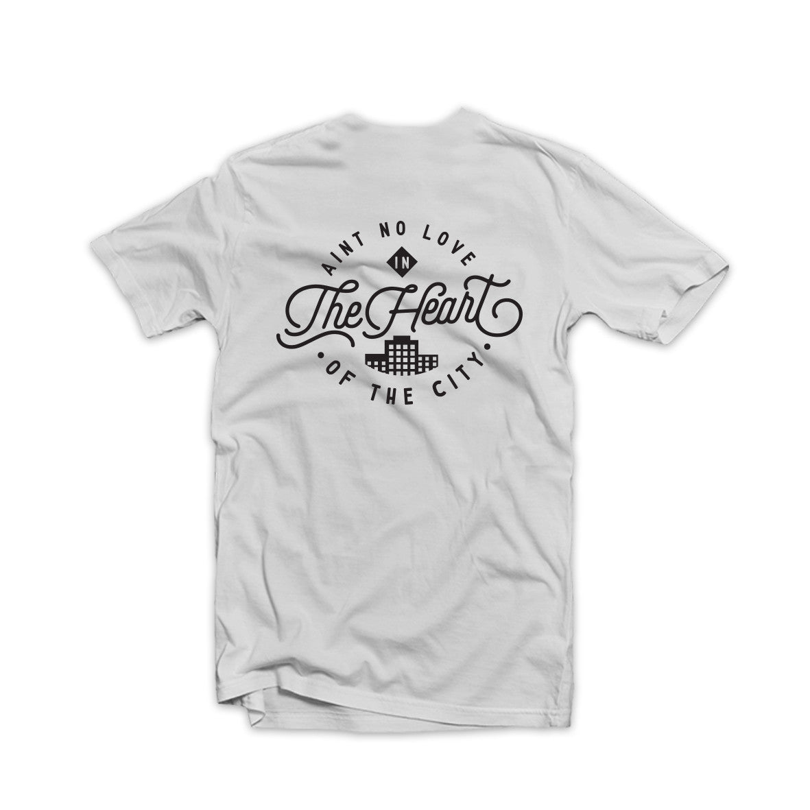 Ain't No Love Tee White
