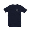 Educate to Elevate Tee Navy