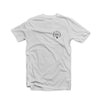 Educate to Elevate Tee White