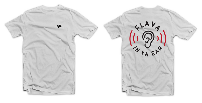 Flava In Ya Ear Tee White
