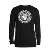 Lyrically Handsome Long Sleeve White on Black