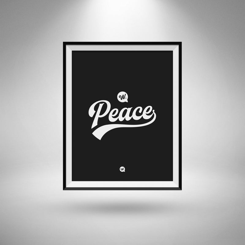 Peace A3 Poster Card