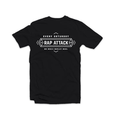 Rap Attack Tee Black