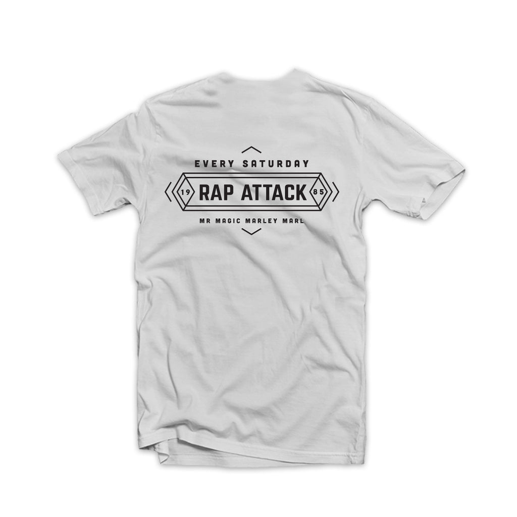 Rap Attack Tee White